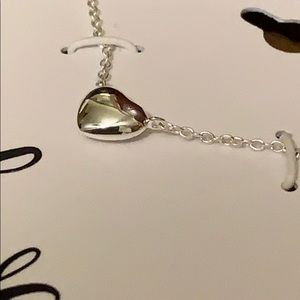 """Love Whole Heart Sterling Silver 16"""" necklace"""